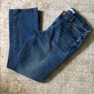 Loft size 00 kick crop jeans